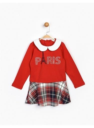 Panolino  Çocuk Elbise 16557 Kırmızı